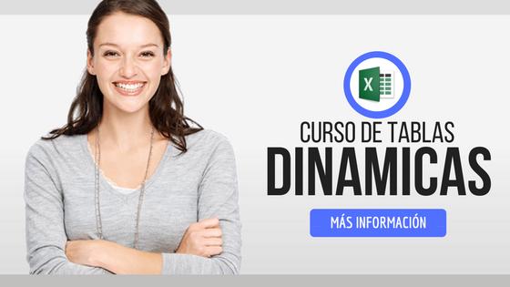 curso de tablas dinamicas online